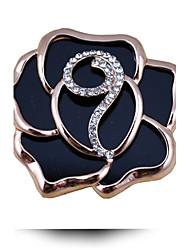 корейский моды изысканный акриловые горный хрусталь брошь роза