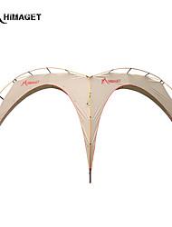 Недорогие -HIMAGET > 8 человек Укрытия и аксессуары для палаток Световой тент Тройная Палатка Однокомнатная Семейные палатки Теплоизоляция
