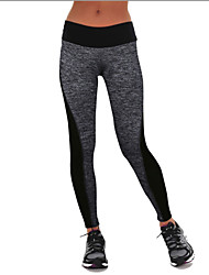 Leggings for Running Yoga Europe And The New AB-Sided Stitching Elastic Waist Leggings Hip Yoga Pants