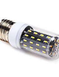 Недорогие -4 W LED лампы типа Корн 3000-6000 lm E14 E26 / E27 T 56 Светодиодные бусины SMD 4014 Тёплый белый Естественный белый 220-240 V / 1 шт.