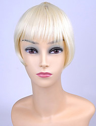 economico -ty.hermenlisa clip in capelli scoppio di calore sintetico capelli frangia fibra resistente estensioni posticci, 1 pc, 20g