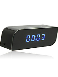 Wireless Mini Wifi IP 720P HD Clock Camera IR Security Network DVR