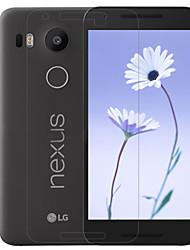 ราคาถูก -กันรอยหน้าจอ สำหรับ LG LG Nexus 5X PET 1 ชิ้น บางพิเศษ