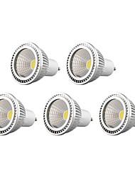 cheap -450lm GU10 LED Spotlight 1 LED Beads COB Dimmable Warm White / Cold White / Natural White 110-130V / 220-240V