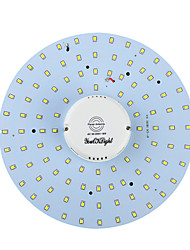 YouOKLight® 19W 1700Lm 3000/6000K 100-SMD2835 White Light/ Warm White LED Body Induction Ceiling Light(AC90-265V)