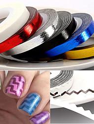 billige -1pcs Negle Smykker Negle kunst Manicure Pedicure Smuk Mode Daglig / PVC / Negle smykker
