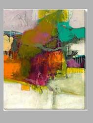 Недорогие -красочные абстрактные растянутые бесплатное доставка масляной живописи домашнее украшение