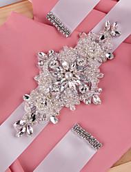 Vjenčanje Zabava / večer Svakodnevica Pojas With Štras Kristal Perlica Pearls Šljokice