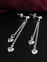 cheap -Silver Plated Heart Heart Silver Jewelry