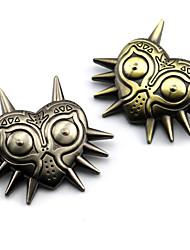 economico -Gioielli Ispirato da The Legend of Zelda Cosplay Anime/Videogiochi Accessori Cosplay Distintivo / Spille Oro / Argento Lega Uomo