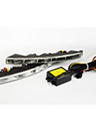 Недорогие -Модели 99% автомобилей подходит автомобиль СИД DRL е4 высокое качество автомобиль водить дневного света IP68 СИД DRL для k5 k9 c300, c500