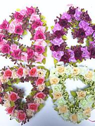 Afdeling Polyester Roser Bordblomst Kunstige blomster