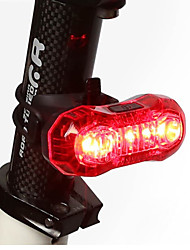 cheap -Rear Bike Light / Safety Light / Tail Light LED Bike Light - Cycling Rechargeable, LED Light, Easy Carrying Other USB Cycling / Bike