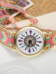 Недорогие -Женские Модные часы Кварцевый Материал Группа Богемные Разноцветный бренд-