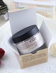 1 Pudder Tør Pudder Blegende Olie kontrol Ujævn hud Naturlig porereducerende Åndbart Hvidte Ansigt Orange Guld Naturlig Krystal