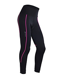 cheap -Nuckily Cycling Tights Women's Bike 3/4 Tights Bottoms Bike Wear Thermal / Warm Quick Dry Windproof Anatomic Design Ultraviolet Resistant