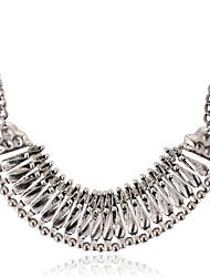 Žene Nakit sa stilom Moda Europska Choker oglice Vintage ogrlice Izjava Ogrlice Glina Legura Choker oglice Vintage ogrlice Izjava Ogrlice