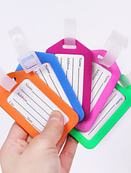 1 PC Luggage Tag Waterproof Luggage Accessory Anti Lost Reminder for Waterproof Luggage Accessory Anti Lost Reminder PP (Polypropylene)-