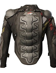 cheap -PRO-BIKER Motorcycle Protective Armor Enhanced Thickening  Motorcross Racing Full Body Armor Vests Black Protection Gear