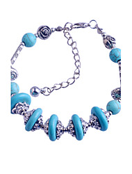 cheap -VINTAGE STYLE Turkey Blue Tophus Five Disc + Alloy Bracelet