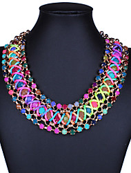 cheap -Women's Choker Necklace - Bohemian, European, Fashion Handmade Screen Color Necklace Jewelry For