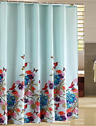 "Modern PEVA W71"" x L71"" with High Quality Shower Curtains"