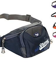Недорогие -Поясные сумки / Походные рюкзаки ( Красный / Синий / Темно-розовый / Фиолетовый / Оранжевый , Нейлон )Защита от пыли /