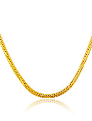 cheap -18K Gold Plated & Platinum Jewelry Wholesale Unique Snake Chain Necklace Gift Jewelry N50115