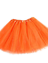 cheap -Women's Swing Skirts - Solid, Tulle