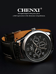 cheap -CHENXI®Men's Classic Business Style Leather Strap Quartz Watch Cool Watch Unique Watch