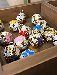 Acessórios do partido Acessório para Fantasia Natal Tema Clássico Bola Não-Personalizado Metal Amarelo / Rosa / Vermelho / Azul / Roxa