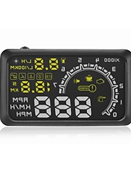 "economico -W02 Head Up Display auto OBD II HUD Head Up Display 5.5 ""guida sicura schermo"