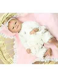 cheap -NPK DOLL Reborn Doll Baby Silicone Vinyl Newborn lifelike Cute Handmade Child Safe Lovely Non Toxic