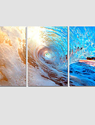 2016Modern Sea Wave Painting On The Wall 3 Piece Modular Pictures Wall Pictures For Linving Room Prints No Frame