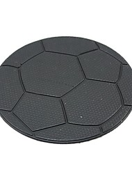ZIQIAO Car Dashboard Football Pattern Sticky Pad Mat Anti Non Slip Mobile Phone GPS Holder Interior Items Accessories