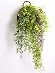 cheap -5 Branch/Bouquet 80CM Simulation Hanging Plant Fake Plant