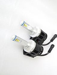 Недорогие -H13 / 9004 / 9007 Для кроссовера / Для автоматического транспортера / Для трактора Лампы 55W Cree 10060LM 8 Налобный фонарь Назначение