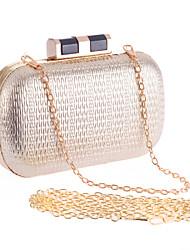 Damen Taschen Ganzjährig PU Polyester Abendtasche für Hochzeit Veranstaltung / Fest Formal Party & Festivität Klub Gold Schwarz Silber