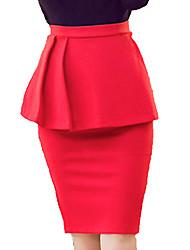 Women's Ruffle OL Graceful Fashion Falbala All Matches Short Skirt Skirts