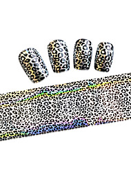 cheap -1PCS New 100x4cm  Mixed Nail Art Foils Priting Glitter Design  Nail Art Sticker polind DIY  Decorations  STZXK46-49