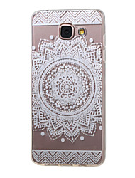 cheap -New Lace Flowers Hollow Pattern TPU Case for Samsung Galaxy A5(2016)/A3(2016)