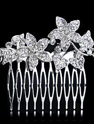 cheveux strass peignes bandeau de mariage élégant style féminin