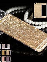 Недорогие -полное тело блестки для iphone6 / 6с блестящий телефон наклейка случай игристых наклейки алмазной пленки