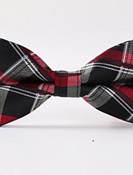 Scottish Grid Stripe Bow Tie
