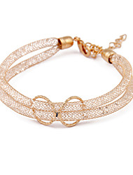 cheap -Korean Jewelry Gold Openwork Crystal Bracelet Christmas Gifts