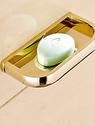 Soap Dish / Ti-PVD Brass /Contemporary