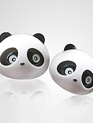 cheap -ZIQIAO 1 Pair Lovely Panda Flavor Car Air Freshener Diffuser Outlet Magic Supplies Perfume