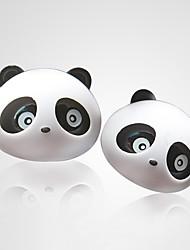 ziqiao 1 paire beau panda saveur sortie du diffuseur désodorisant de voiture fournitures magiques parfum