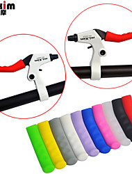 cheap -mi.Xim Mountain Bike Colorful Brake Lever Grip Lever Protector