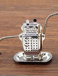 Недорогие -нержавеющая сталь для завивки робота подвешивает чай из нержавеющей стали